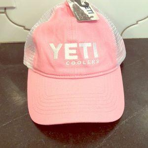 New YETI hat pink gift